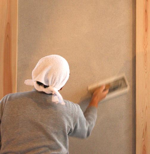 さまざまな特性を持つ漆喰